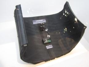 「CAIS」コンセプトに用いる小型発電機とセンサー