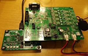 図1 「S1V50300」の評価ボード