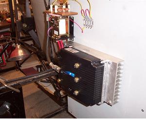 図5 モーター/電池制御用のコントローラ
