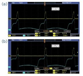 図2 LED照明回路の電圧波形