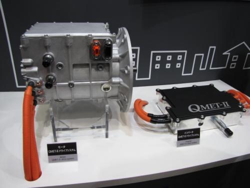 図1 安川電機のEV用電動システム「QMET-II」