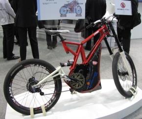 インフィニオンが試作した電動バイク