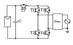 図4 SMA Solar Technologyが採用するH5方式のブリッジトポロジ