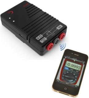 図2 Redfish Instruments製の無線デジタルマルチメータ