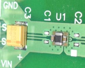 図3 Texas Instrumentsの「TPS82671EVM」