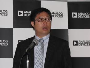 アナログ・デバイセズの藤川博之氏