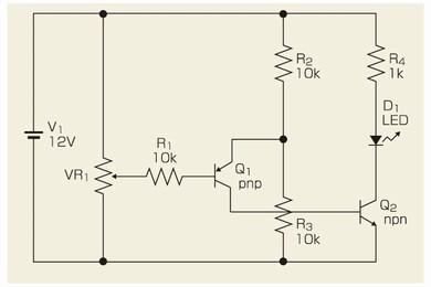 図1 低レベルを検出するコンパレータ回路