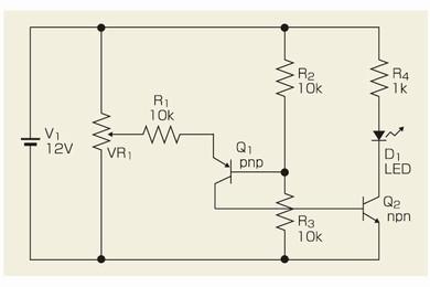 図2 高レベルを検出するコンパレータ回路
