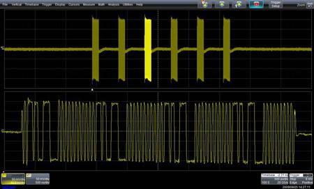 図4 SATAのOOB信号(COMINIT)