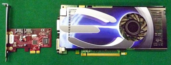 図2 PCI Express対応アドイン・カード