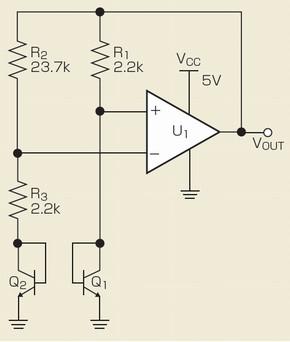 図2 バンドギャップリファレンスの回路例