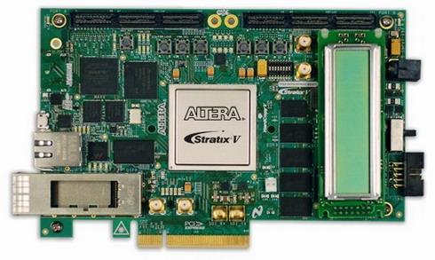 Stratix V GX FPGAデバイスを搭載した開発ボード