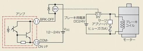 図1 ブレーキ回路の接続方法