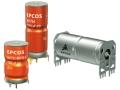 EPCOSブランドのアキシャルリードタイプ車載アルミ電解コンデンサ