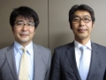 図研の早乙女幸一氏(右)とガイア・システム・ソリューションの甲斐博氏