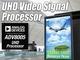 2160p対応の高精細ビデオ信号処理プロセッサ
