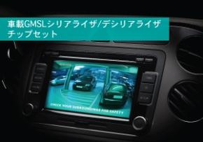 「GMSL SerDesチップセットファミリ」のイメージ
