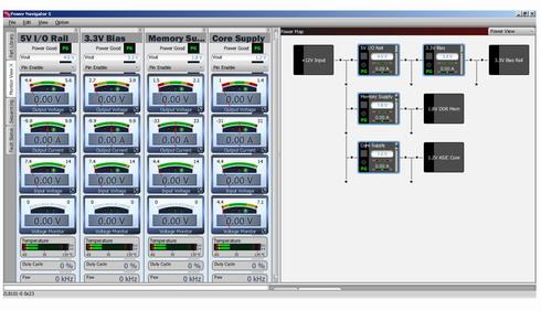図6 デジタル電源用GUIツール