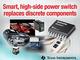 電流センス精度5mAのスマート ハイサイドパワースイッチ製品