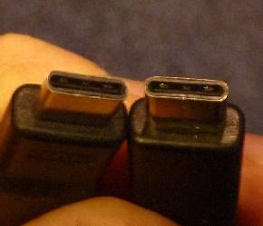 図2:USB Type-Cケーブルは両端共にType-Cコネクタが着けられるので、使いやすくなる