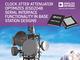 JESD204B規格対応のクロックジッタ・アッテネータ
