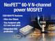 オン抵抗54mΩの60V パワーFemtoFETトランジスタ