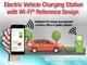 Wi-Fi機能を付けたEV向け充電器のレファレンス