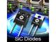 電力密度を高める650V SiCショットキーダイオード