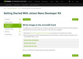 Get Started With Jetson Nano Developer Kit