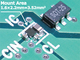 4MHzの600mA DC-DCコンバーター