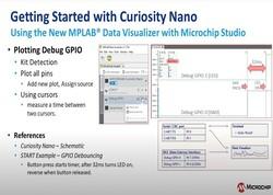 Curiosity Nanoの使い方: MPLABR Data Visualizerの使用