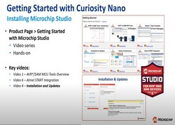 Curiosity Nanoの使い方: Microchip Studio
