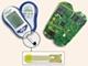 5秒で結果が分かる血糖値計、全機能を2チップに集積