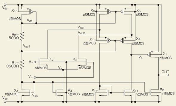 第32回 MOSFETのオペアンプを改善~裏返し回路で入出力特性向上 ...