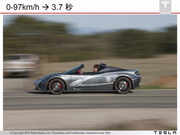 図2 テスラモーターズの「Roadster」