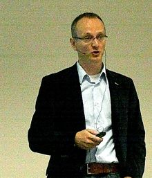 図7 IMECのRob Van Schaijk氏