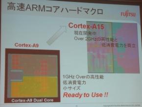 「Cortex-A9」/「Cortex-A15」の搭載品