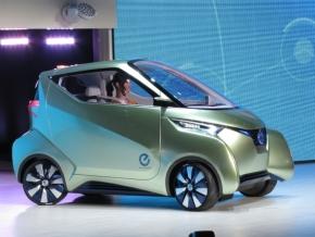 図2 日産自動車の「PIVO 3」