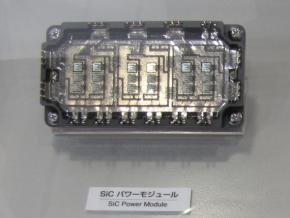 SiCデバイスを用いたインバータ