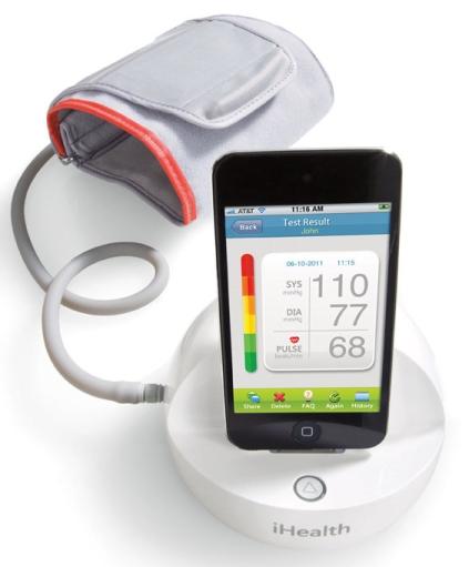 血圧測定器「iHealth」
