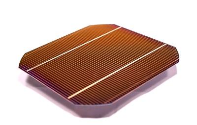 銅配線を採用した太陽電池