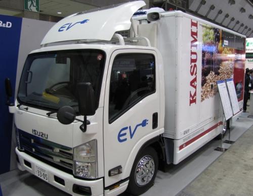 東京R&DがEV化した配送トラック