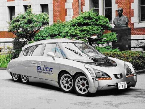 電気自動車に対する社会の見方を変えたEliica 電気自動車に対する社会の見方を変えたEliic