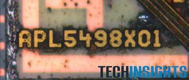 A5Xのダイ上の刻印