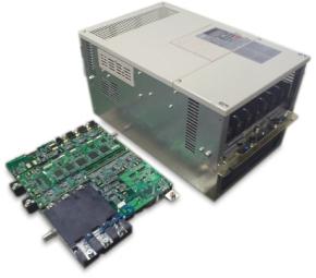 安川電機が開発した次世代モータードライブシステムと従来品の比較