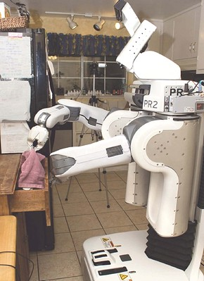 Willowの個人用ロボットの第2世代機「PR2」