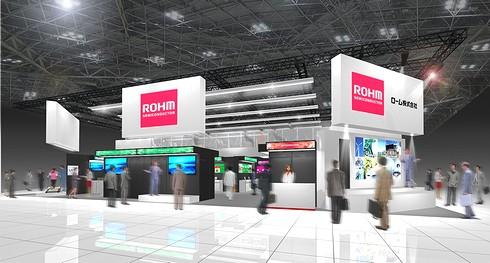 ロームの展示ブースのイメージ