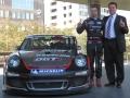 フリースケールがメインスポンサーを務める「OGT! Racing」のレースカー