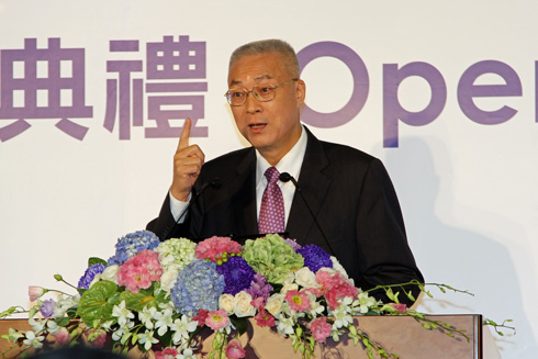 呉敦義副総統