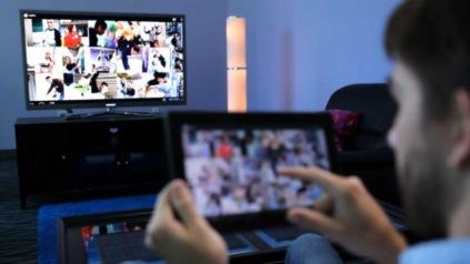 NVIDIAによる、Miracastのデモ